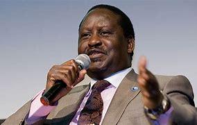 Image result for Raila Odinga