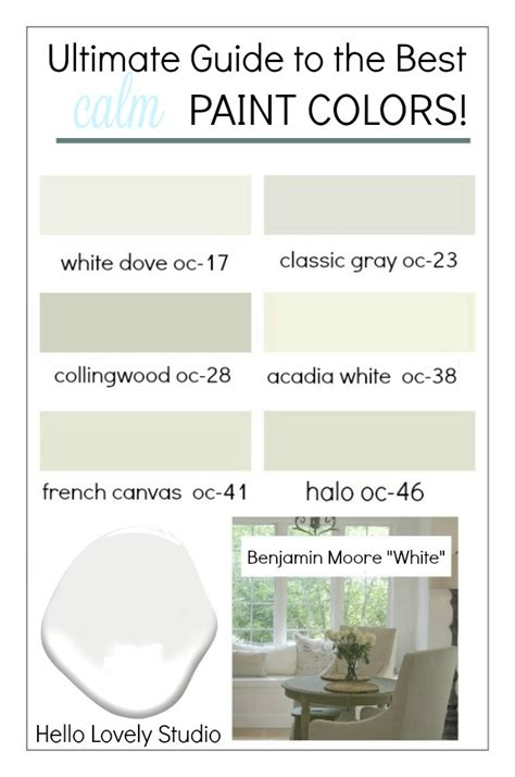 best calm paint colors top picks from designers