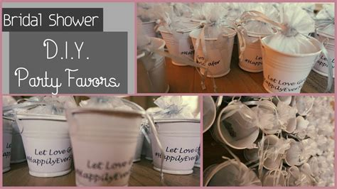 diy bridal shower baby shower party favors let love grow