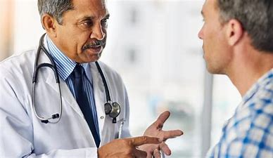 Image result for images stern doctor giving advice