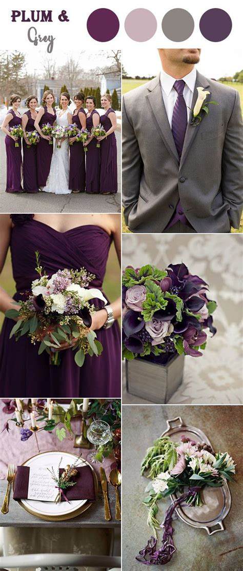 the perfect fall wedding color combos to steal fall