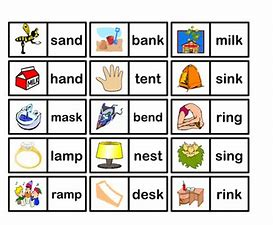 Image result for CVCC Words