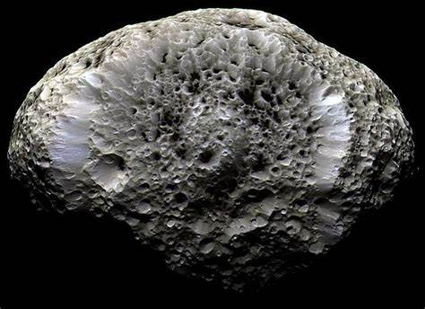 Hyperion – Saturn's Weird Wobbly Moon