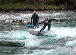 Image result for pics of river surfing kananaskis