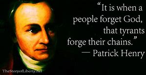 Image result for Patrick Henry Quotes
