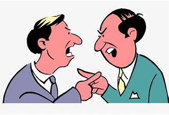 Image result for argue Cartoon