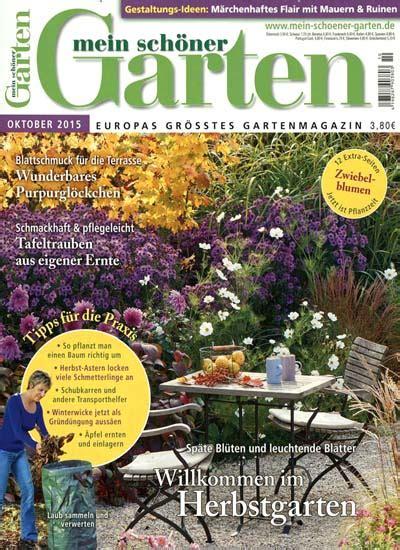 mein schöner garten magazine subscription