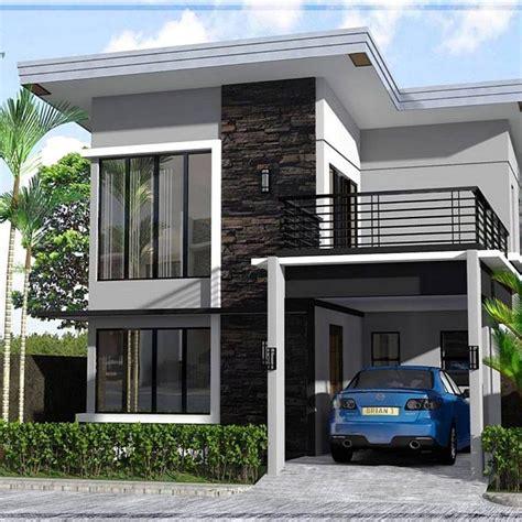 desain rumah minimalis lantai ukuran x terbaru
