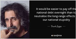 Image result for stupidity over national debt