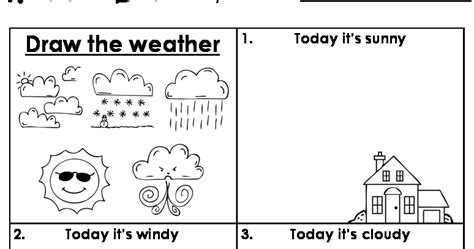 WEATHER WORKSHEET NEW WEATHER FREE WORKSHEETS