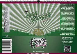 Image result for cedar creek the lawn ranger