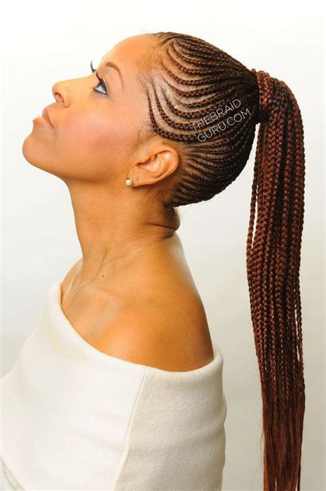 FEED IN CORNROW AND CORNROW BRAID STYLES WE ARE LOVING