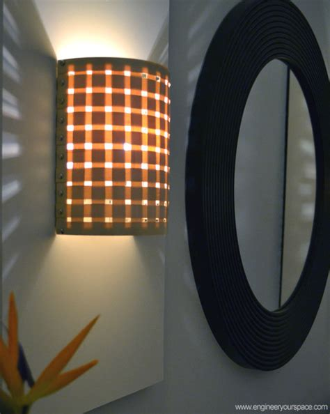 diy wall sconces with customizable shades new york by