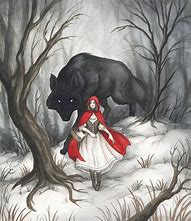 Image result for images little red riding hood sexual wolf