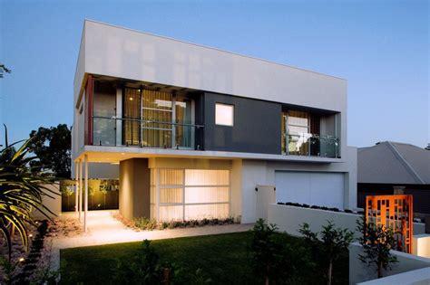 desain rumah berbentuk kotak minimalis modern bentuk