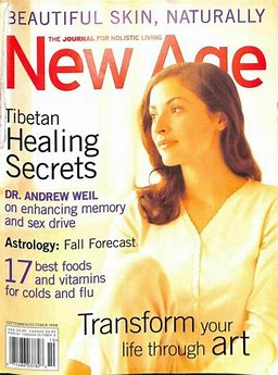 Image result for new age magazine