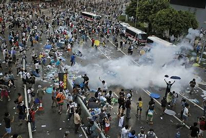 Image result for riot torn cities