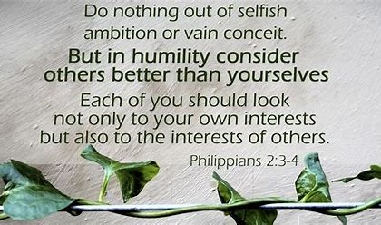 Image result for philippians 2:3-4