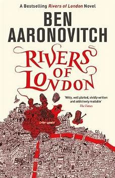 Image result for the rivers of london book cover