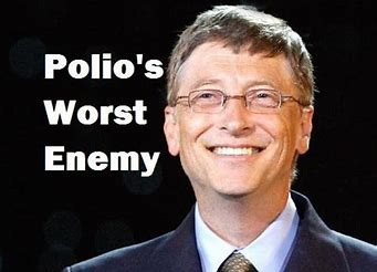 Image result for free pics bill gates polio