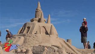 Résultat d'images pour photos de châteaux de sable