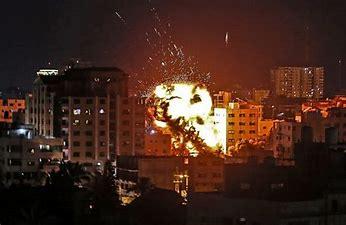 Image result for images israeli bombs destroying gaza buildings