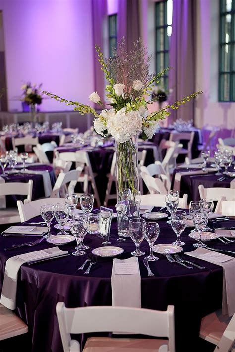 purple and white wedding www significanteventsoftexas com