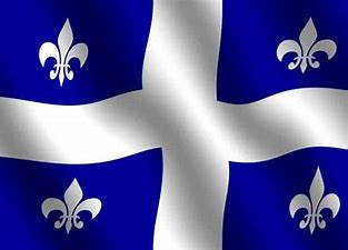 Image result for images french canadian quebec flag