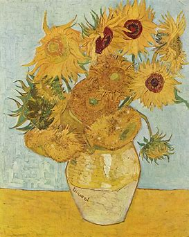 Image result for Vincent Van Gogh Sunf;owers