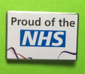 Image result for proud of nhs badges