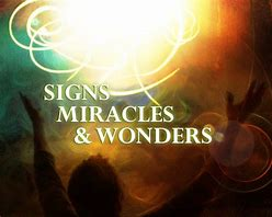 Image result for Miracle Sign