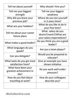 job interview let s talk about interview teaching