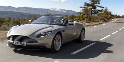 aston martin db volante first drive