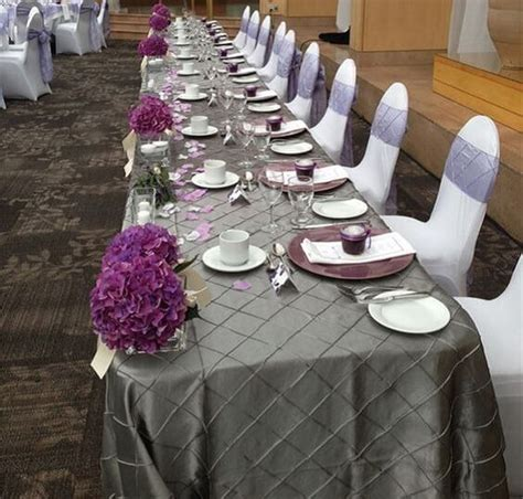 mysterious purple and grey fall wedding color inspirations