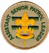 Image result for senior patrol leader.png