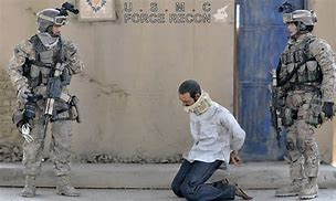 Image result for US soldiers taking prisoners