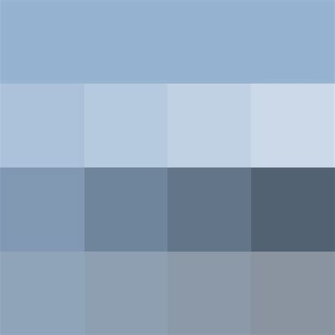 solid shades of blue and grey are appropriate business