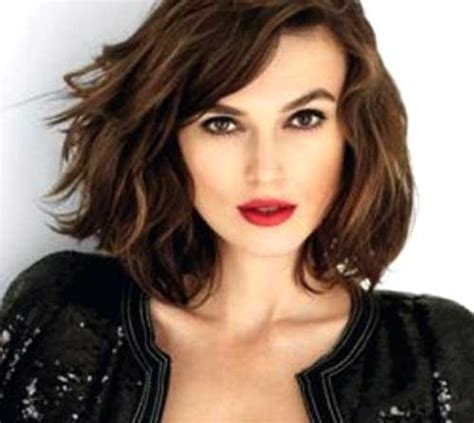 short hairstyles for thick wavy hair short