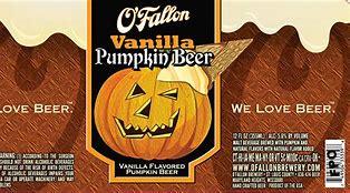 Image result for o'fallon vanilla pumpkin