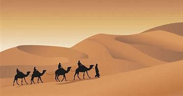 Image result for images camel caravan routes africa
