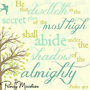 Image result for free clip art of psalm 91