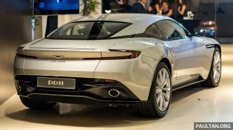 aston martin db v officially launched in malaysia amg