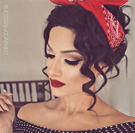 pin up hairstyles fashionable and unique hairstyles