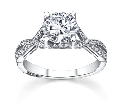 beautiful wedding ring woman with gold diamond engagement