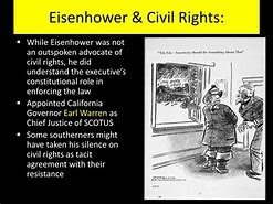 Image result for eisenhower and the civil rights movement