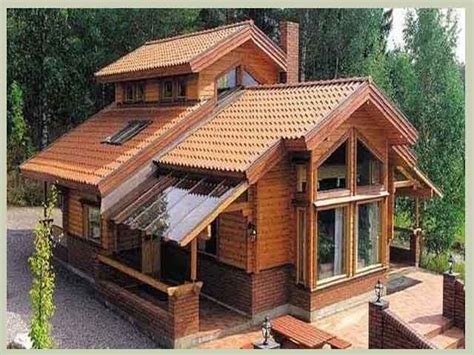 desain rumah antik minimalis atap biru ini dia gambar
