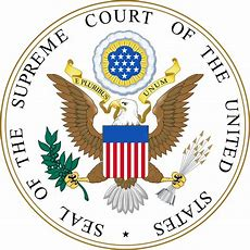 Image result for logo of the supreme couret of the us