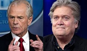 Image result for Steve Bannon and Pter Navarro