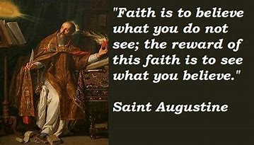 Image result for Quote by Saint Augustine