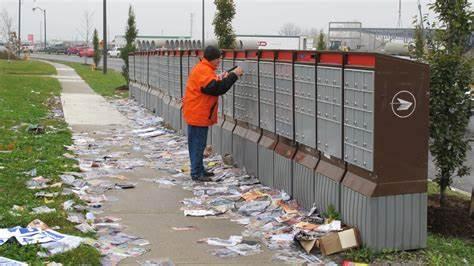 Littering admail